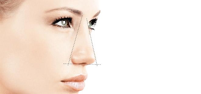 La nariz puede cambiar con la edad